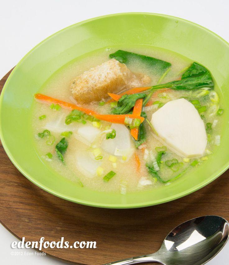 Miso Soup (Ozoni Japanese New Year) Recipe anime food