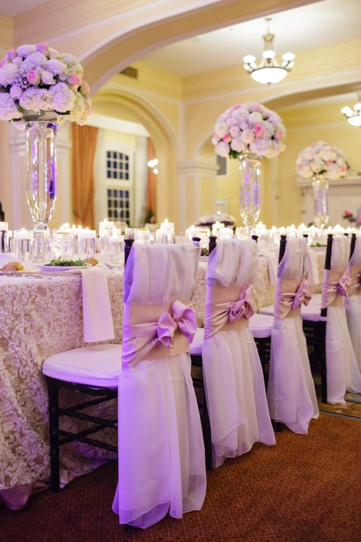 photographer: Archetype Studio; Ballroom wedding reception decor idea;