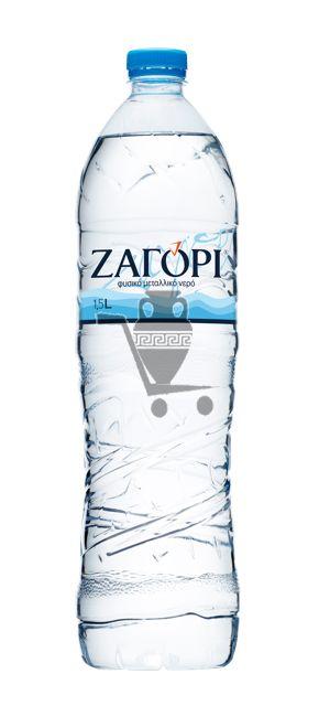 """Минеральная Вода """"ZAGORI"""" PET 1,5 Lt (6 шт.)"""