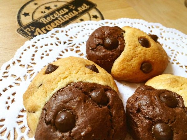Esta es una adaptación de una receta americana de estas galletas que son una mezcla perfecta de brownie y cookie ( de ahí ese nombre) los chicos de la casa quedaron locos de contentos ya que a todos les gusta el chocolate, y para rematar alguno se animó a hacer un alfajor uniendo dos con