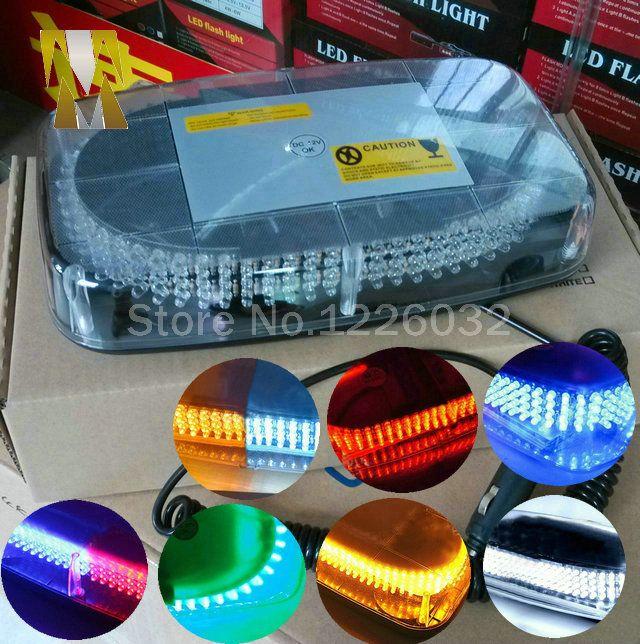 60w Car Roof Flashing Strobe Emergency Light 240LED DC 12V 240 LED Caution Police beacon light With Magnetic Holder