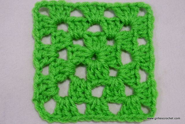 Free Crochet Pattern Easy Granny Square For Beginners