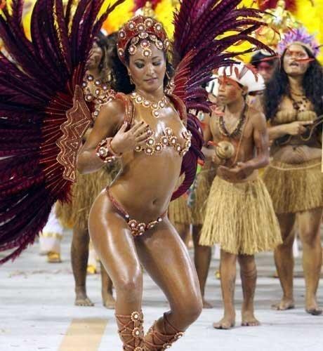Бразильский карнавал идеи костюмов