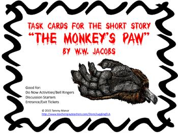 a story of the supernatural in the monkeys paw by w w jacobs Free shipping on qualifying offers the monkey's paw is a supernatural short  story by author w w jacobs first published in england in 1902 in the story.