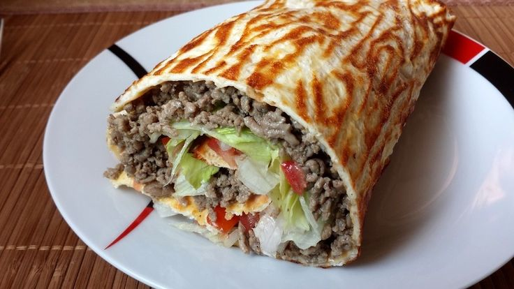 Low-Carb Big Mac Rolle 1