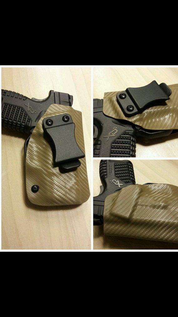 Custom Kydex Holster for Springfield XDS by KydexToys on Etsy