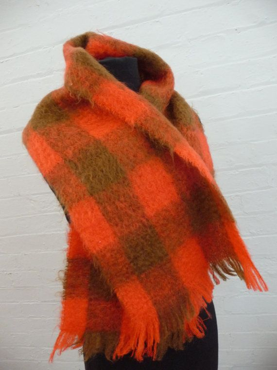 Glen Elgin Pure Mohair Scarf Scotland by TickleAndFinch on Etsy
