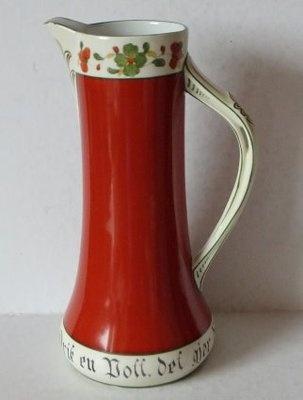 Chocolate pitcher