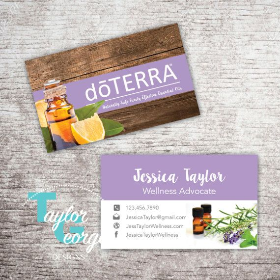 Best 25 Doterra business cards ideas on Pinterest