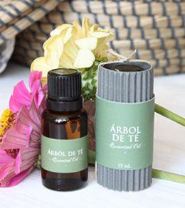 Aceite esencial de Árbol de té. Protector de la piel.