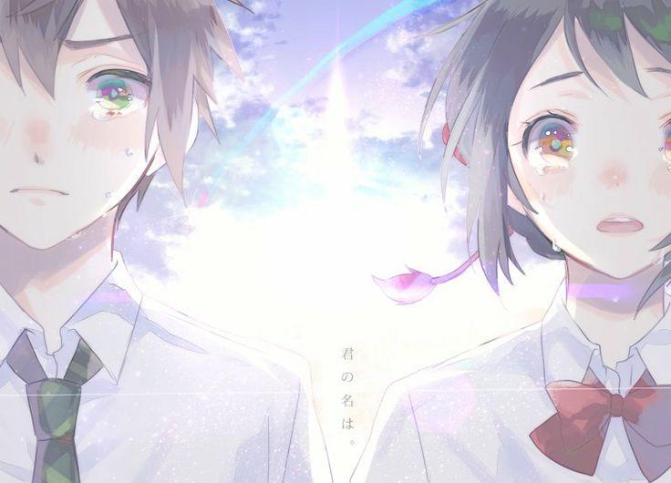 Sad Crying Girl Wallpaper Hd Kiminonawa Taki Mitsuha Kimi No Na Wa Your Name