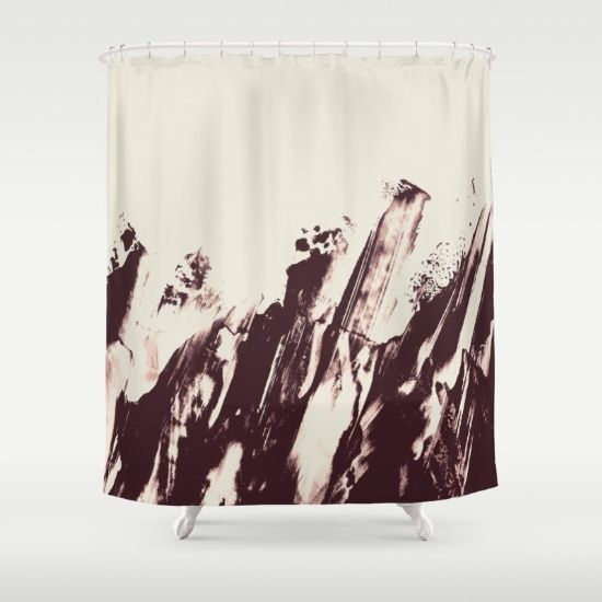 Sea in Winter Shower Curtain