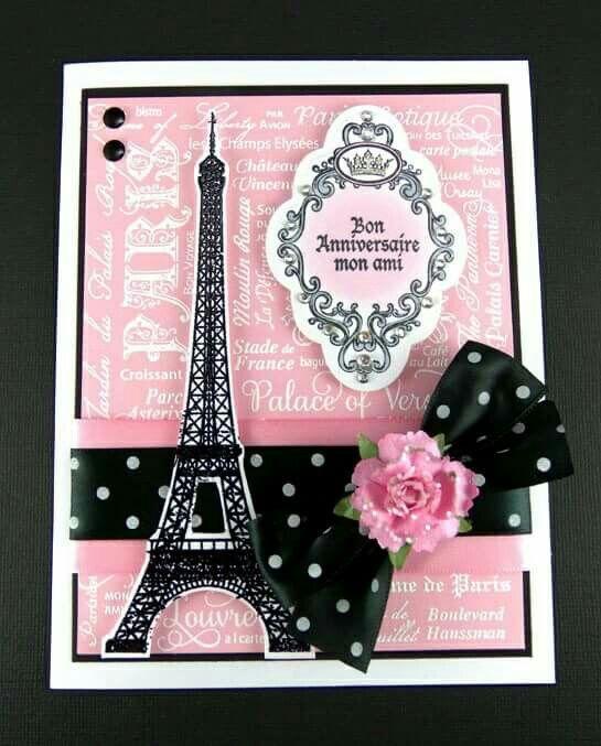 Tarjeta Torre Eiffel