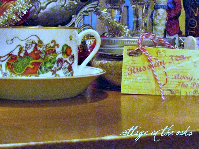 Free Printable and Russian Tea Recipe