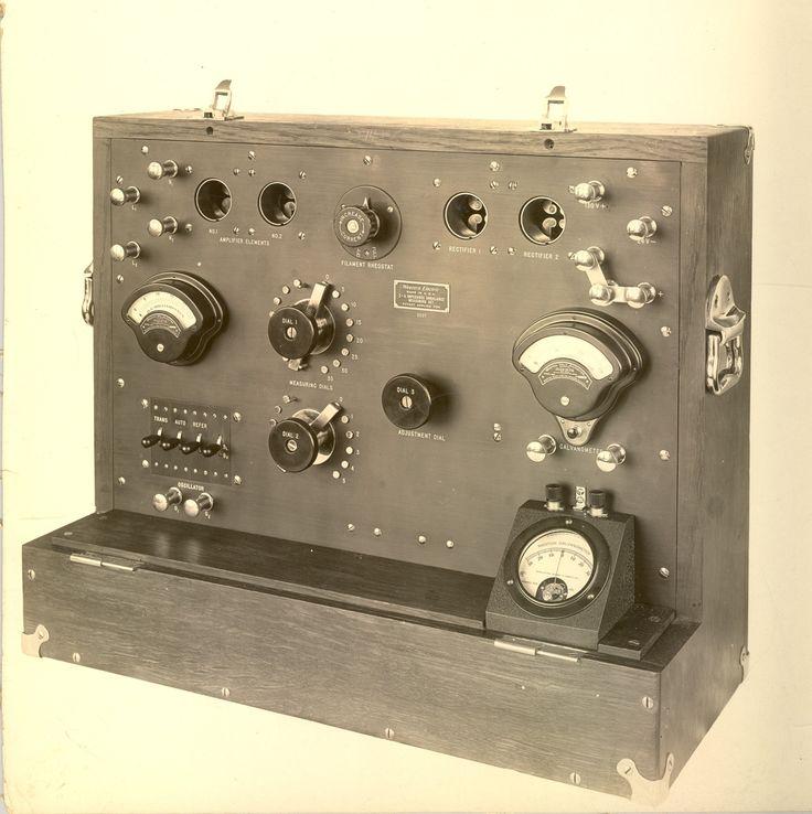 Western Electric impedance unbalance measuring set