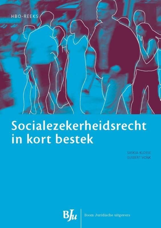 Socialezekerheidsrecht in kort bestek  Dit inleidende boek over het socialezekerheidsrecht is bestemd voor een eerste kennismaking met het rechtsgebied. Het is systematisch en breed opgezet. De nadruk ligt op de structuur van het stelsel. Er zijn voorbeelden opgenomen en er wordt verwezen naar de relevante wetsbepalingen. Elk hoofdstuk sluit af met een samenvatting. Na twee inleidende hoofdstukken is het boek opgezet langs de assen van de thema's ziekte arbeidsongeschiktheid werkloosheid…