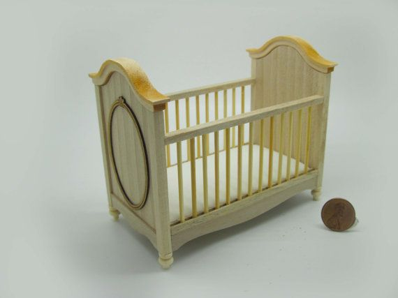Miniatur Puppenhaus Möbel Unfertigen Kinderbett Code VMJ