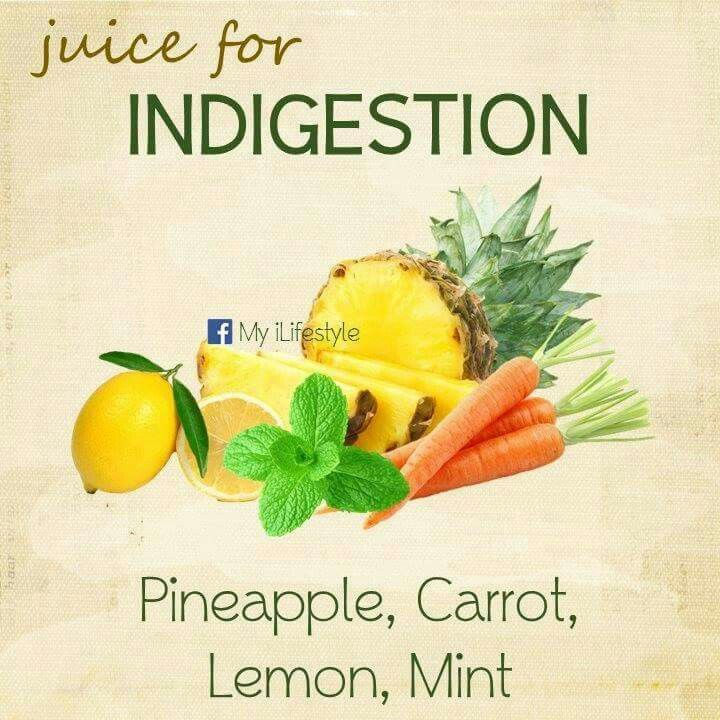 Homemade Juice Therapy: Indigestion