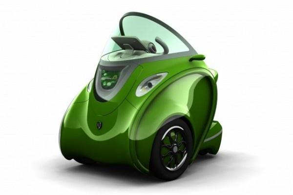 Kobot electric folding car