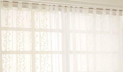 Velo Bordado Enredadera. Visítanos en tuakiti.com #cortina #curtain #visillo #lacecurtain #decoracion #homedecor #hogar #home #enredadera #creeper #tuakiti
