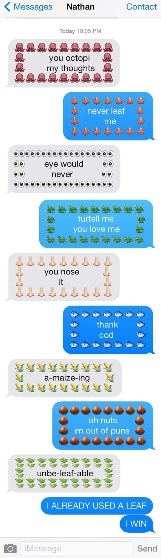 how to send dirty emoji messages