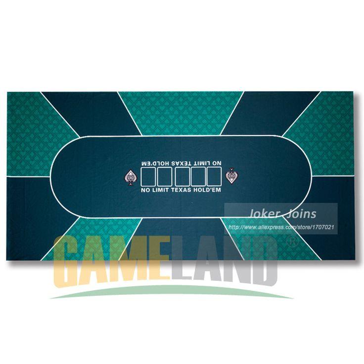 Año nuevo-90*180 cm 10 Jugadores de Texas Hold'em Poker Table paño Fietro Fieltro-Poker juego estera de mesa de Póquer conjunto