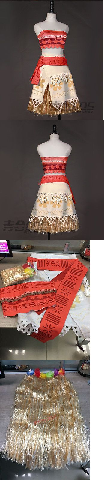Halloween Costumes Women: New Movie Moana Costume Princess Dress Skirt Halloween Cosplay BUY IT NOW ONLY: $45.99
