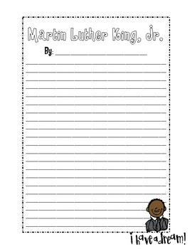 Martin luther king essays free word document