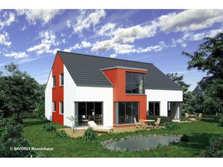 Massivhaus modern satteldach  11 besten Haus mit Einliegerwohnung Bilder auf Pinterest ...