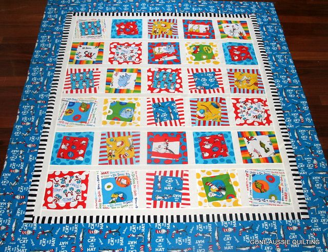 81 best Dr. Seuss fabric projects images on Pinterest | Quilt ... : dr seuss quilt fabric - Adamdwight.com