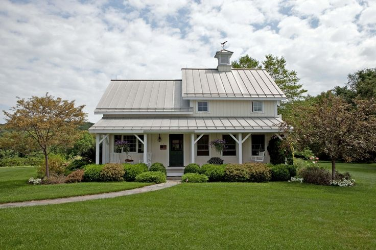 Someday I will have a cottage or farmhouse :) | Craftsbury Cottage by Yankee Barn Homes