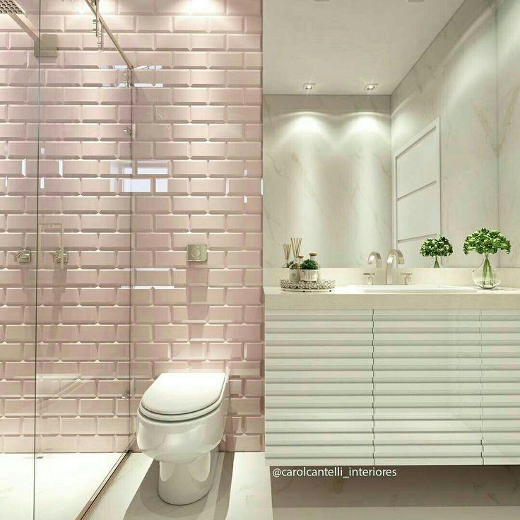 17 melhores imagens sobre DECOR Banheiro Lavabo no Pinterest  Banheiros, Ma -> Sonhar Banheiro Feminino