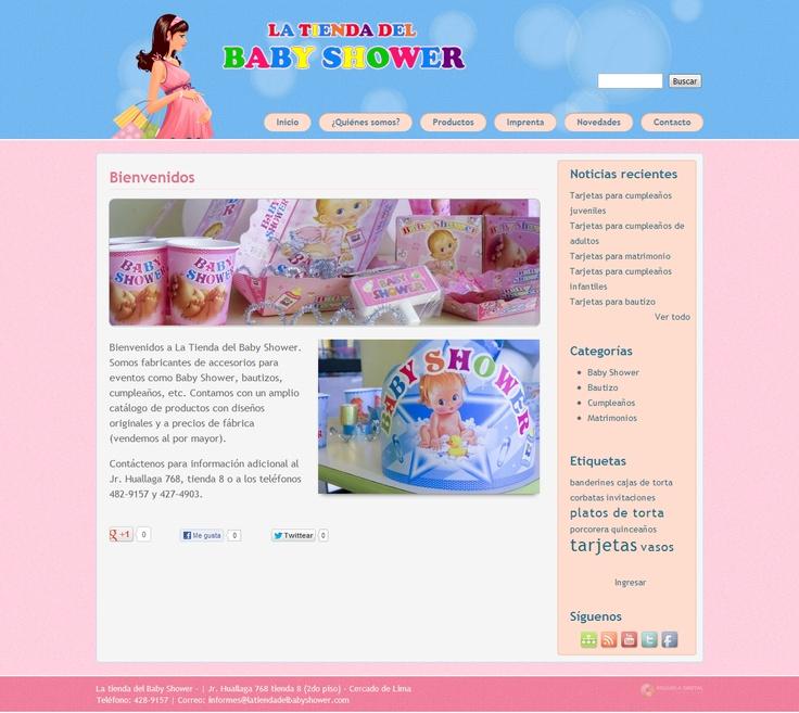 La tienda del baby shower