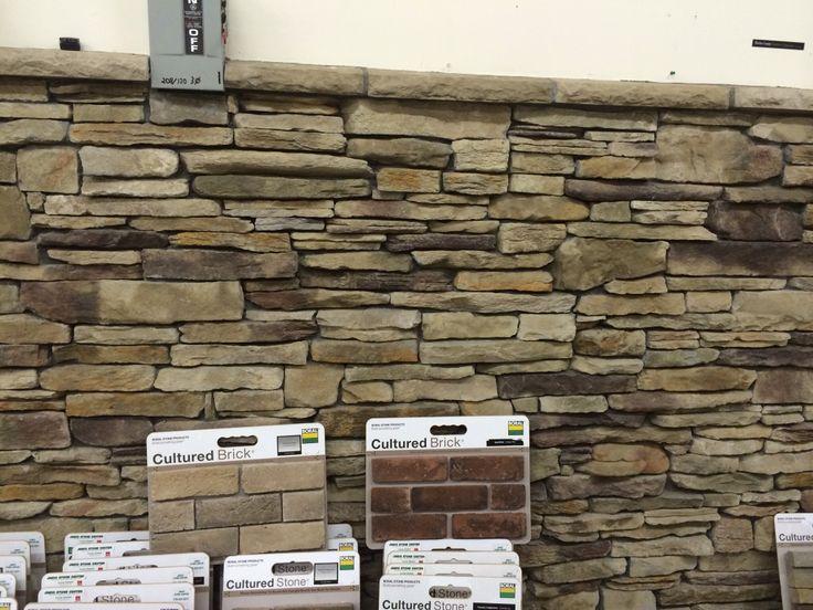 Ledgestone Fireplace Surround Home Design Ideas, Pictures