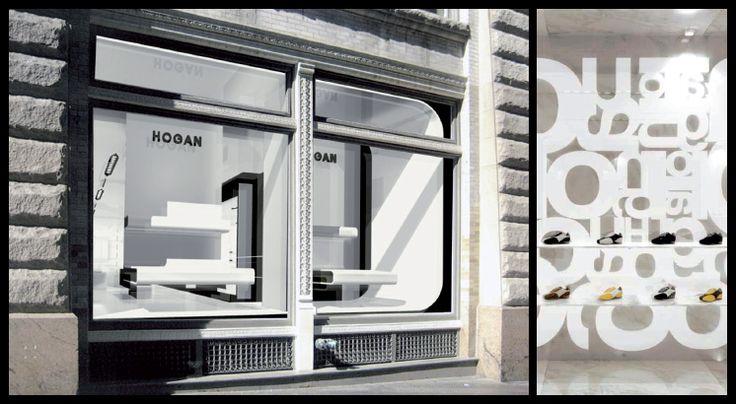 Concept international boutiques et corners Hogan   Laure Girodroux & Associés