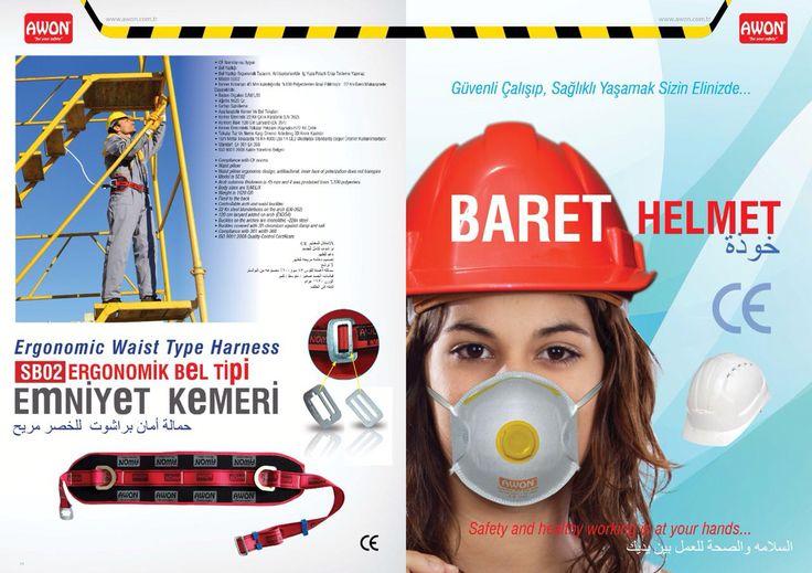Awon Safety equipment  Awon iş güvenlik ürünleri