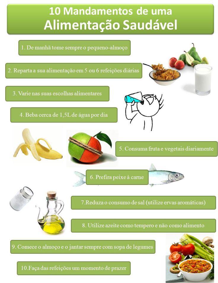 Dicas para uma alimentação saudável... NA BOA, PRA QUE PERDER TEMPO... Invista Seu Tempo Naquilo Que Realmente Funciona: =>> http://www.SegredoDefinicaoMuscular.com  #AlimentacaoSaudavel