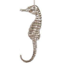 handcrafted pewter seahorse light pull - click to view
