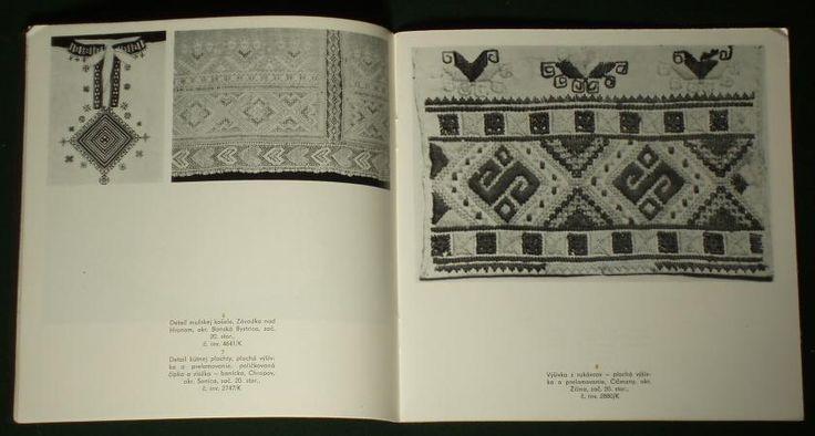 BOOK Traditional Slovak Folk Textiles ~~ ethnic embroidery costume peasant art | eBay