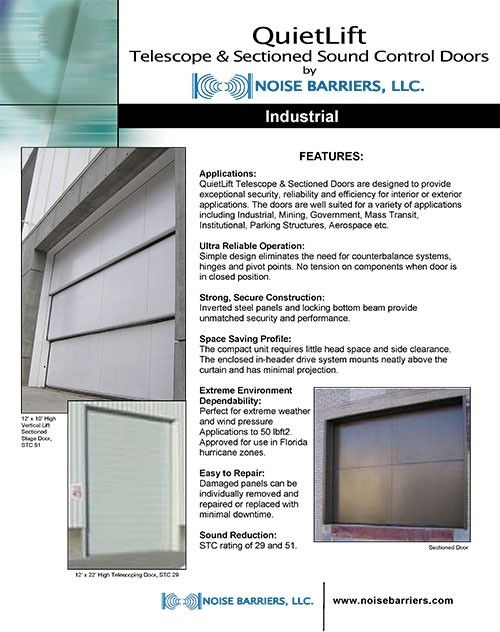 QuietLift Download  sc 1 st  Pinterest & 8 best Acoustical Doors and Seals images on Pinterest | Seals ...