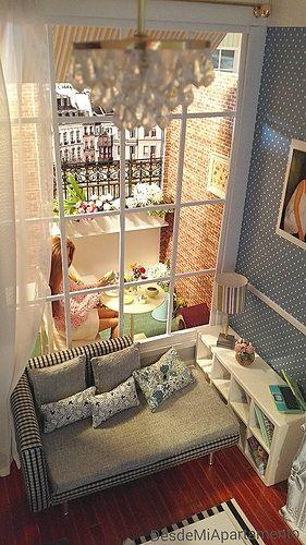 Ola..la...PARIS l' apartament a Mommartrë Diorama escala 1/6 le petit dejeneur... | by Desde mi apartamento