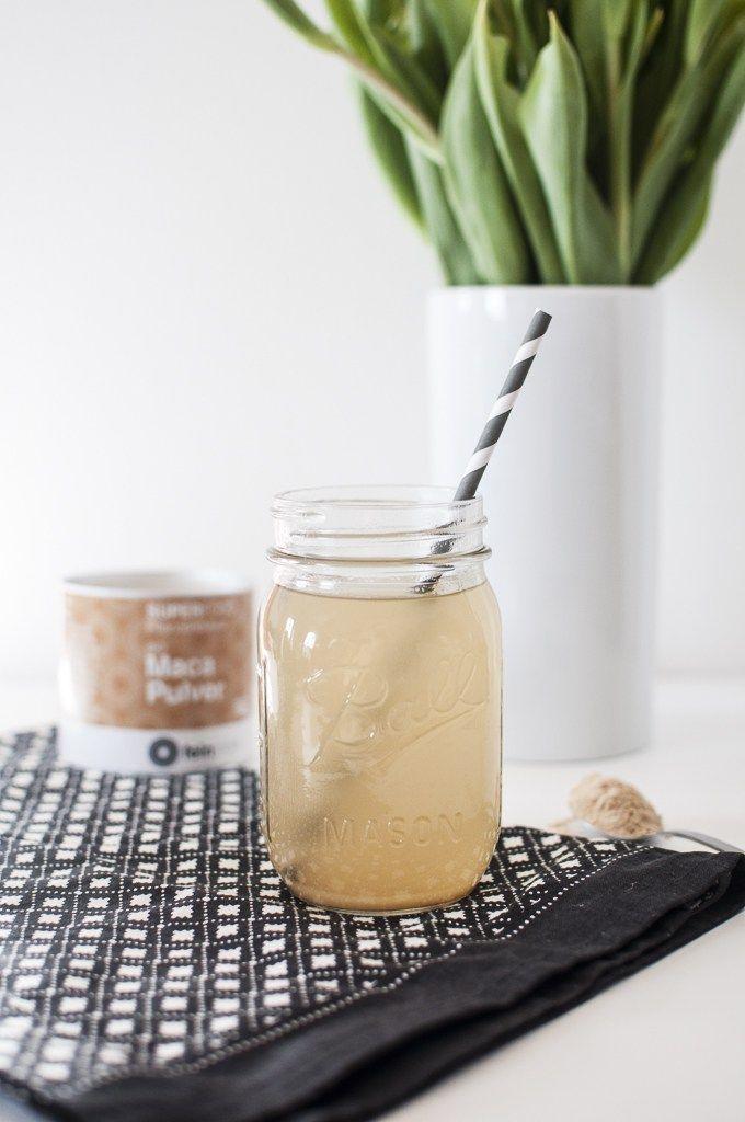 FEINSTOFF: Maca-Pulver hilft unseren Hormonhaushalt wieder ins Gleichgewicht zu bringen Rezept für Maca-Kickstarter - Under the Walnut Tree