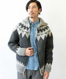 Canadian Sweater Company Ltd.(カナディアンセーター)の【CANADIAN SWEATER COMPANY /カナディアンセーター カンパニー】 別注カウチンニット(ニット/セーター)