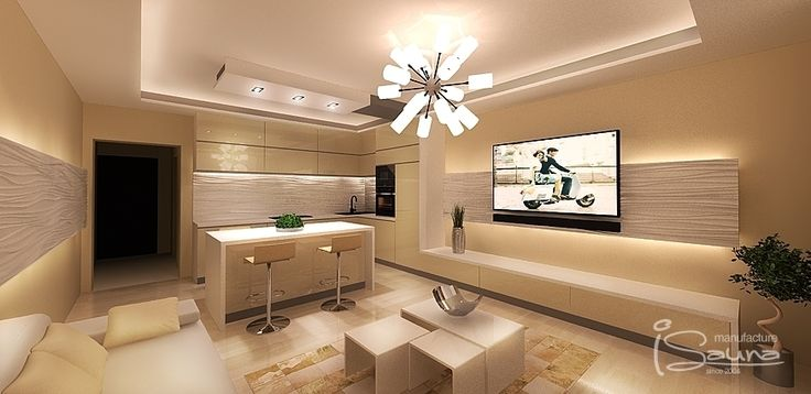 Interior design with extensive architectural advices