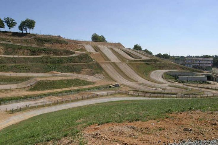 Dirt bike track, must have