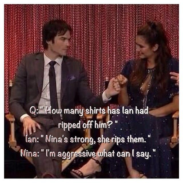Ian and Nina answering questions at Paleyfest 3/22/14