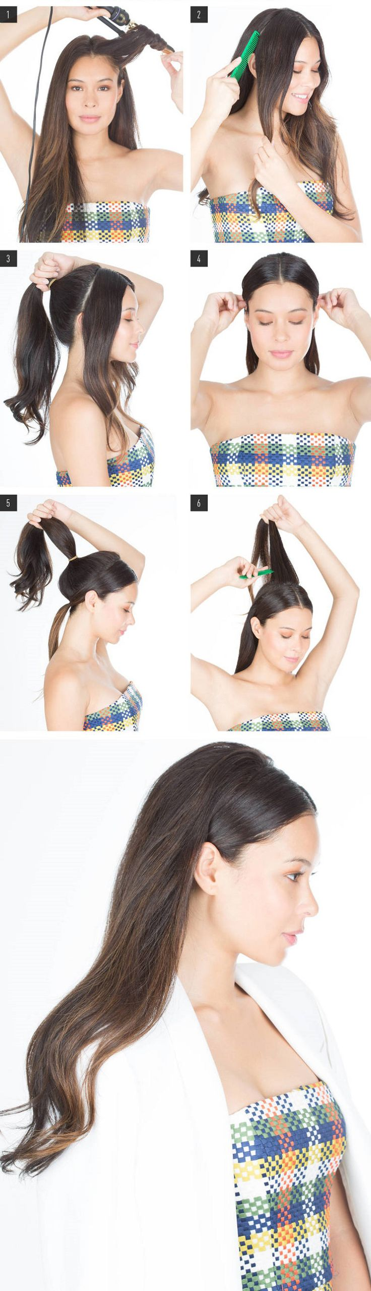 25 Best Ideas About Hair Pulled Back On Pinterest
