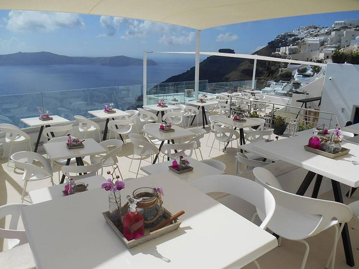 It's summertime! Moema has been selected for an amazing location in Santorini (Greece): Onar Wine Bar. A great project where design meets an incredible seaside landscape. www.gaber.it #designchair #wearecontract