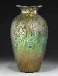 Jacques Sicard vase, 1902. Sold at Christies for $8,365