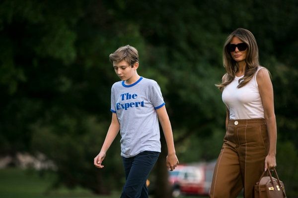 Two Trump Children Escape the Traditional Spectacle as School Begins